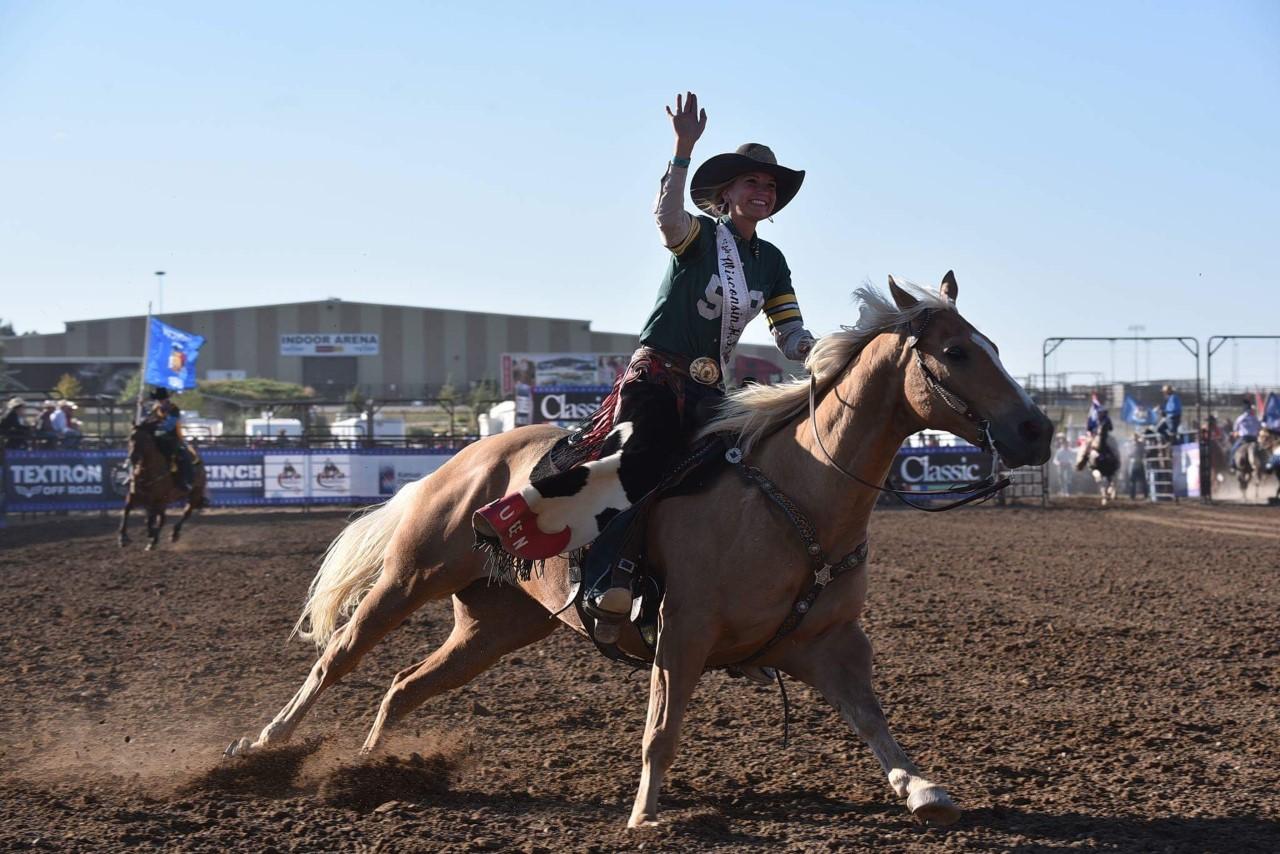 Ruth Schwichtenberg 2018-2019 WHSRA Rodeo Queen
